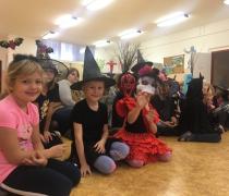 Halloween ve školní družině