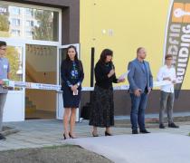 Slavnostní otevření přístavby školy